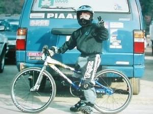 BMXを始めた頃の吉井康平
