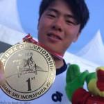 長迫ヨシタク 2014年アジア選手権優勝