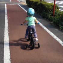 補助無し練習と子供用BMX考察