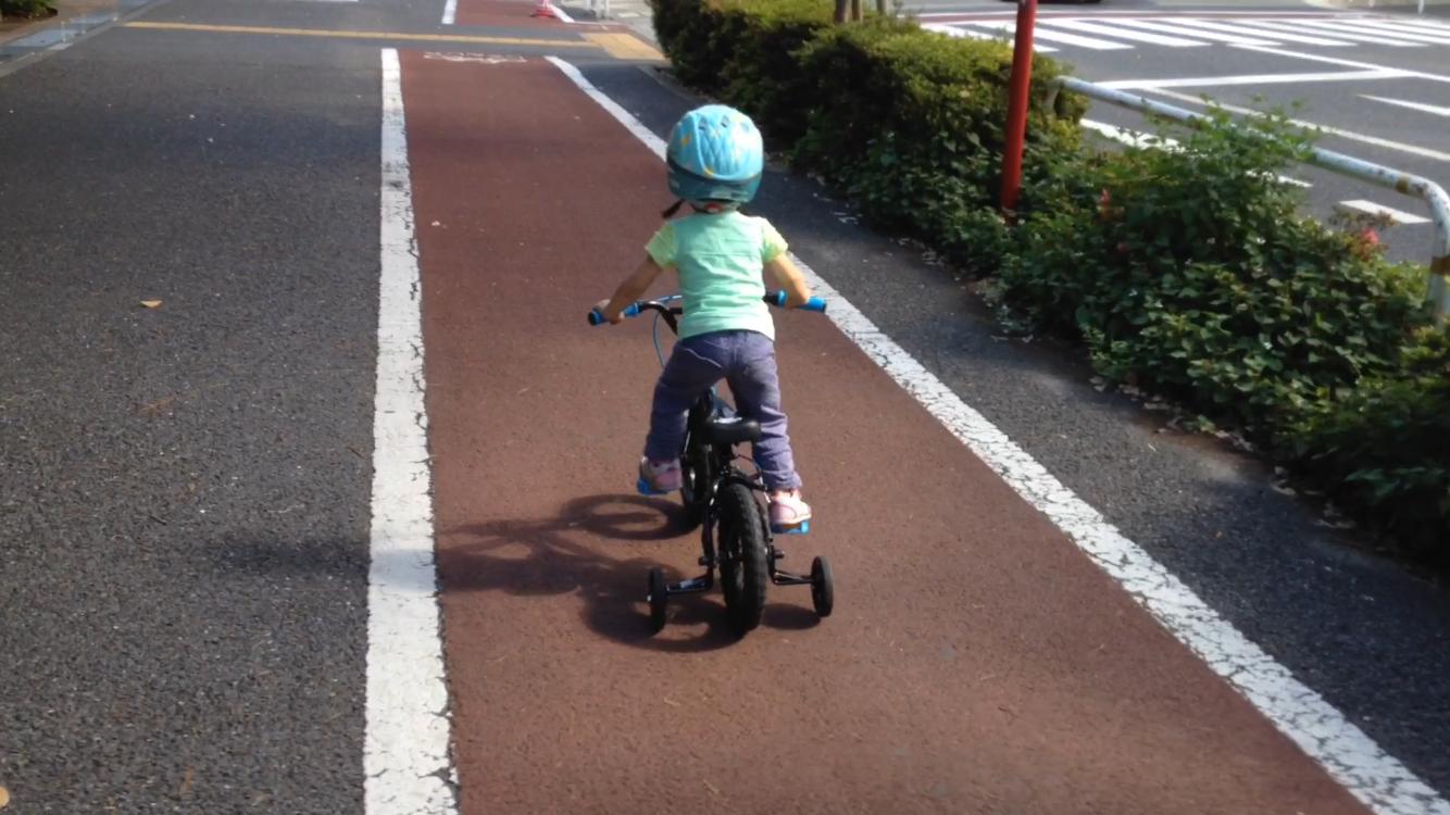 補助無し自転車練習のポイント ...