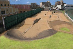 岸和田BMXコース全景
